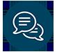 Ícone de conversação